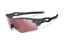 Oakley Radarlock Path matte heather grey/G30 iridium